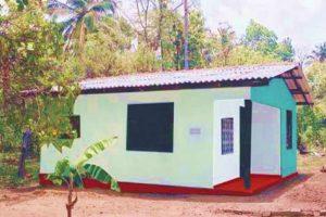 2002 – BuiltTropicoir Village – 14 Houses and a Community Centre