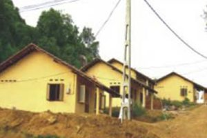 2006-Construction of 58 houses Tsunami Victims