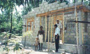 2003: Construction of Two Houses for Mrs. Thilakarathna and Mrs. Sandya Rani employees of Tropicoir