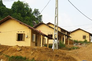 2007: Construction of 58 houses for Tsunami affected people in the Kalutara area